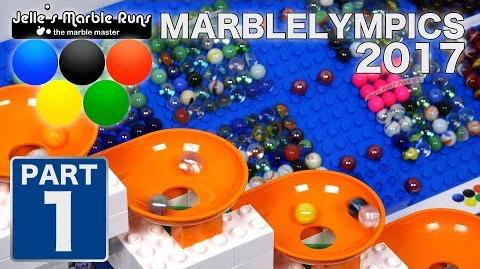 Marble Race- MarbleLympics 2017 event 1- Opening + Funnel Spinning