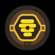 Bumblebees Badge