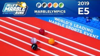 Marble Race MarbleLympics 2019 E5 - 5 Meter Sprint