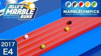 Marble Race Marblelympics 2017 E4 5-meter Sprint