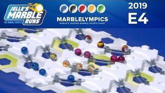 Marble Race MarbleLympics 2019 E4 - Gravitrax Slalom