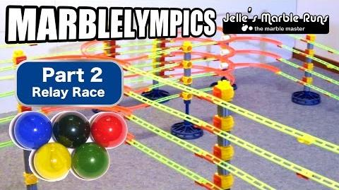 Marble Race- Marble Olympic Games (part 2, Relay Run)