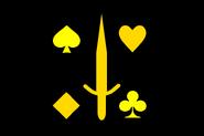 Black jacks-flag