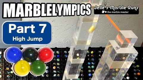 Marble Race- Marble Olympic Games (part 7, High Jump)