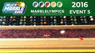 Marble Race Marblelympics 2016 Event 5 - Long Jump