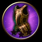 04epic armor golden cuirass