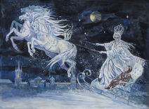 Snow Queen by Elena Ringo