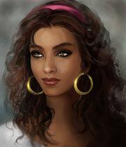 Esmeralda portrait by martadewinter-d6pb9la