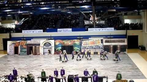 Cavaliers Indoor Percussion 2015