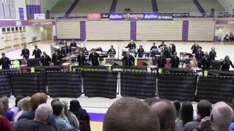 """2014 IPA State Finals Fishers High School Percussion Concert World """"Tubular"""""""