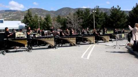 2012 - Woodbridge High School - Concert Ensemble - WGI Western Finals (3 25)