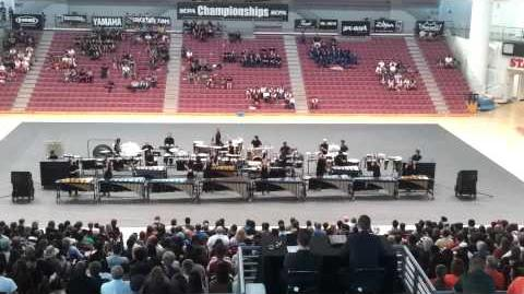 Woodbridge HS Concert Percussion 2012