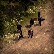 ALI Officer 3DPortrait Cossack