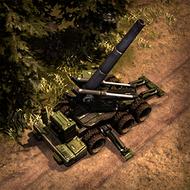 REP Howitzer 3DPortrait ArmyGreen