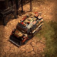 WAR DemoTruck 3DPortrait Base