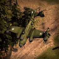 REP FlyingFortress 3DPortrait ArmyGreen
