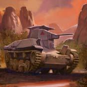 Empire light tank