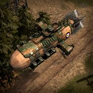 ALI WarZeppelin 3DPortrait British