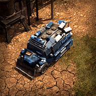 WAR DemoTruck 3DPortrait Nomad