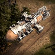 ALI WarZeppelin 3DPortrait RedWall