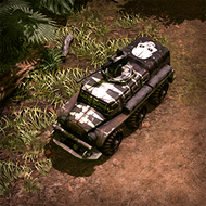 CAR AssaultBus 3DPortrait Muerte