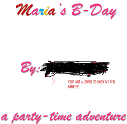 Maria's B-Day