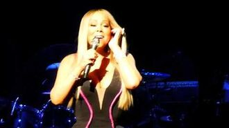 Mariah Carey - SNIPPET Slipping Away & MELT AWAY live in Paris I June 1