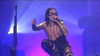 Marilyn Manson - The Beautiful People LIVE (Guns God And Government Live In L
