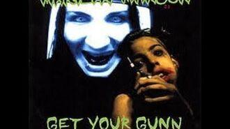 Marilyn Manson - Get Your Gunn - Lyrics Video