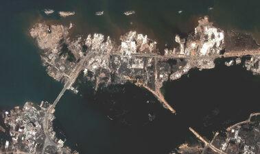 Banda aceh shoreline missing dec28 2004 dg
