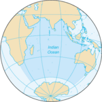 Indian Ocean- Map