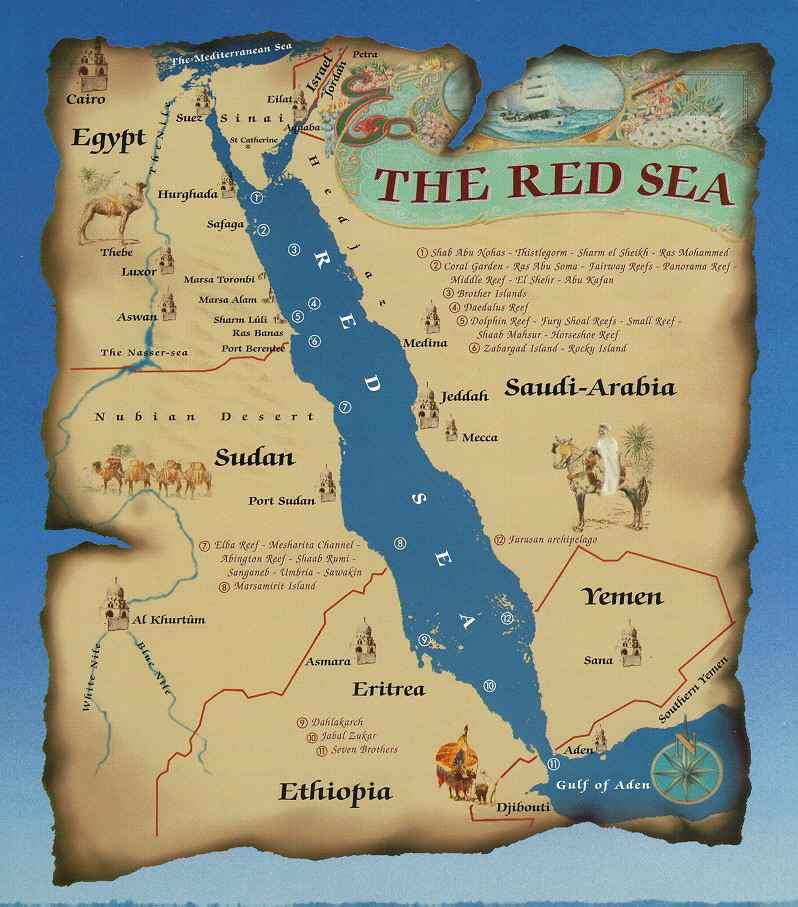 Image map red seag marine wiki fandom powered by wikia map red seag gumiabroncs Image collections