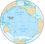 Pacific ocean-map