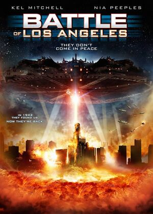 Battle of Los Angeles DVD Cover