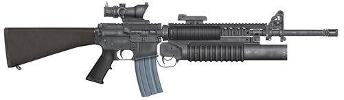 M16A4M203ACOG