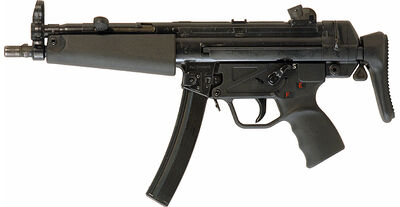 MP5A3 StockCollapsed