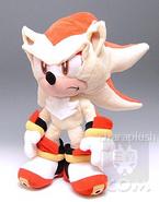 Sonic Super Shadow Plush Stand by hatsukoi
