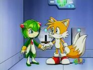 Cosmo x miles tails prower by trixieluz-d5g1ckz