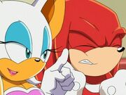 Knuckles-rouge