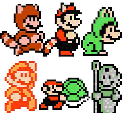 Mario-3-suits