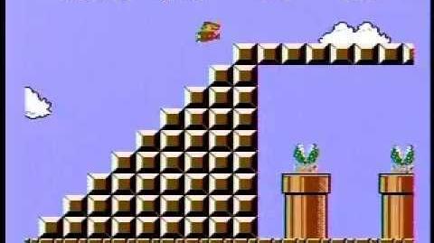 Super Mario Bros. Speed Run - 4 58! World Record!!!