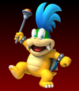 Larry Koopa New Super Smash Bros Brawl