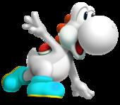 Yoshi blanco