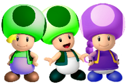 Toadmatt, Todd y Toadcy
