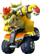 Bowser artwork mario kart 8 by drybowjap-d7by7cd