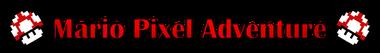 Mario Pixel Adventure Logo