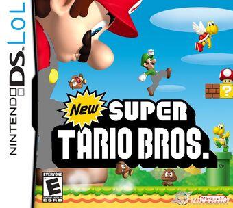 New Super Mario Bros Portada