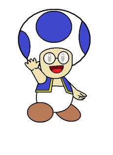 Toad azul