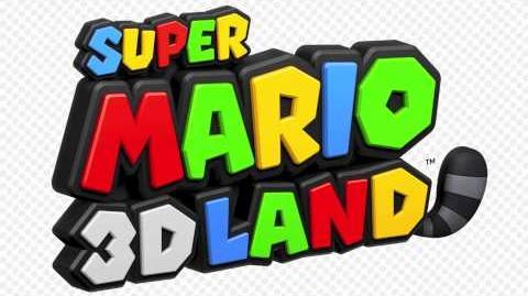 Title Screen - Super Mario 3D Land