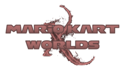 Mario Kart X Worlds Logo By Silver